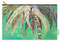 Verdant Palm Carry-all Pouch by Kristen Abrahamson