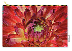 Variegated Dahlia Beauty Carry-all Pouch