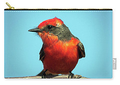 Vermilion Flycatcher - Pyrocephalus Rubinus Carry-all Pouch