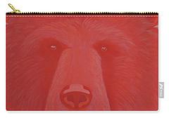 Vermillion Bear Carry-all Pouch