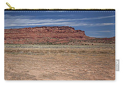 Carry-all Pouch featuring the photograph Vermillion Cliffs Panorama by Anne Rodkin