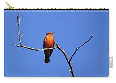Vermillion Flycatcher Carry-all Pouch