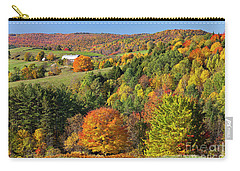Vermont Autumn Landscape Carry-all Pouch