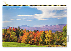 Vermont Autumn View Carry-all Pouch