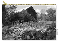 Vermont Barn And Stone Wall Carry-all Pouch