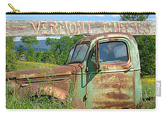 Vermont Cheese Carry-all Pouch by Susan Lafleur