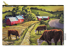 Vermont Going For The Green On Jenne Farm Carry-all Pouch