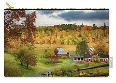 Vermont Sleepy Hollow In Fall Foliage Carry-all Pouch
