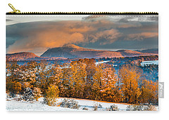Vermont Snowliage Scene Carry-all Pouch