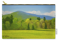 Carry-all Pouch featuring the painting Vermont Spring by Frank Wilson