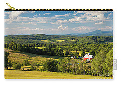 Carry-all Pouch featuring the photograph Vermont Summer Vista by Alan L Graham