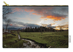 Vermont Sunset Carry-all Pouch