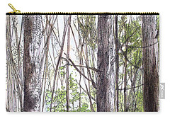 Vermont Woods Carry-all Pouch by Laurie Rohner