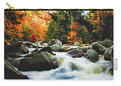 Vermonts Fall Color Rapids Carry-all Pouch