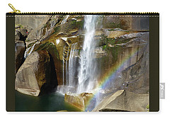 Vernal Falls Mist Trail Carry-all Pouch by Amelia Racca