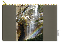 Vernal Falls Rainbow And Plants Carry-all Pouch