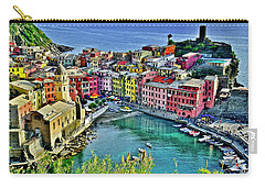 Vernazza Alight Carry-all Pouch by Frozen in Time Fine Art Photography