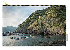 Vernazza Harbor Entrance Carry-all Pouch