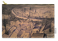 Verona Birdview Drawing Carry-all Pouch