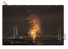 Verrazano Narrows Bridge At 50 Years Old Carry-all Pouch