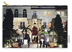 Versace Mansion South Beach Carry-all Pouch
