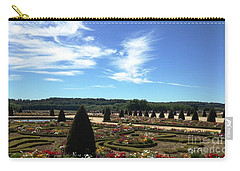 Carry-all Pouch featuring the photograph Versailles Palace Gardens by Therese Alcorn