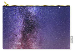 Vertical Milky Way Carry-all Pouch
