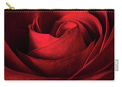 Vertical Rose Carry-all Pouch