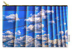Carry-all Pouch featuring the photograph Vertical Sky by Paul Wear