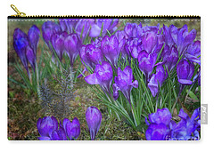 Carry-all Pouch featuring the photograph Very Blue by Ann Jacobson