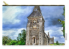 Very Old Church Carry-all Pouch by Pennie  McCracken