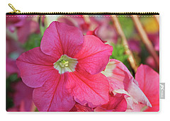 Very Pink Petunia Carry-all Pouch
