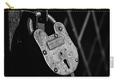 Carry-all Pouch featuring the photograph Very Secure by Doug Camara