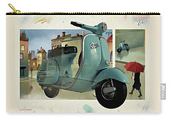 Vespa Memories Carry-all Pouch