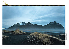 Vestrahorn Mountain Evening Carry-all Pouch