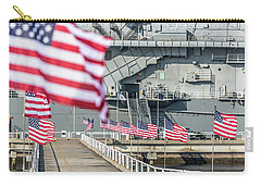 Veterans Day At Uss Yorktown Carry-all Pouch