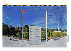 Veterans Freedom Park, Cary Nc. Carry-all Pouch by George Randy Bass