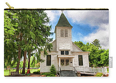 Carry-all Pouch featuring the photograph Veterans Home Chapel by Trey Foerster