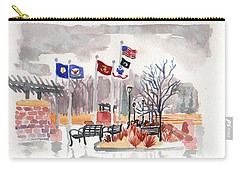 Veteran's Memorial Park Carry-all Pouch