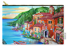 Via Positano By The Lake Carry-all Pouch
