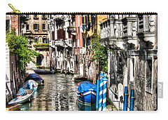 Viale Di Venezia Carry-all Pouch by Tom Cameron