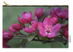 Carry-all Pouch featuring the photograph Vibrant Blooms by Ann Bridges