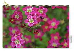 Vibrant Floral Carry-all Pouch