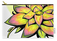 Vibrant Flower 8 Carry-all Pouch