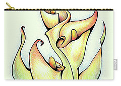 Vibrant Flower 3 Arum Lily Carry-all Pouch