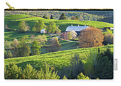 Carry-all Pouch featuring the photograph Vibrant Spring by Alan L Graham