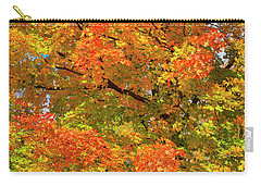 Carry-all Pouch featuring the photograph Vibrant Sugar Maple by Gary Hall