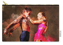 Vibrant Tango Carry-all Pouch by Shirley Stalter