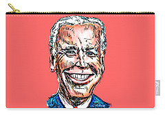Vice President Joe Biden Carry-all Pouch by Robert Yaeger
