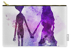 Victor And Emily Carry-all Pouch by Rebecca Jenkins
